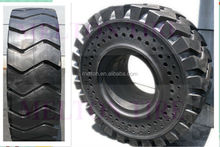 solid otr tire 26.5-25 wheel loader tire with hole