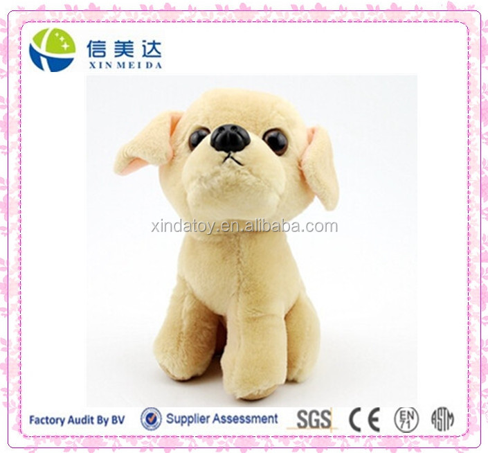 Plush Light Yellow Labrador Dog,Stuffed Labrador toy