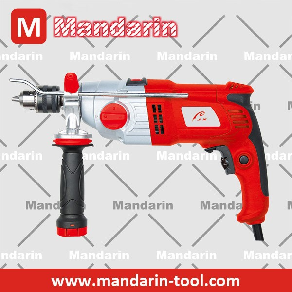 New Design! Electric drill type aluminum gear cover 900W impact drill, electric hand drill, mini drill