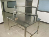 factory supply stainless steel clean bench