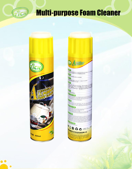 Supplier wholesales washing chemical shampoo forming foam sprayed on cars for multi-purpose like cleaning and polishing