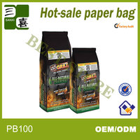 2ply kraft barbecue charcoal packaging bags
