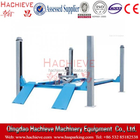 Hydraulic driven four post lift / wheel alignment lift for sale
