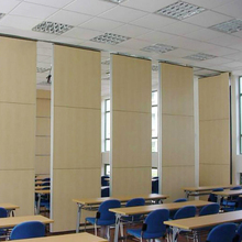 Commercial Furniture Soundproof Movable Walls Wooden Partitions for Office