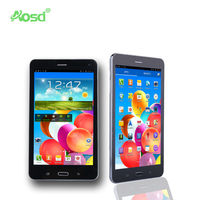AOSD brand 3G mtk8382 quad core Wifi GPS Bluetooth android 4.4 7 inch tablet with quad core S189
