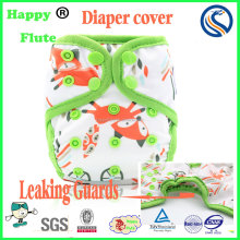 Happy flute baby cloth diaper cover reusable cloth diaper wholesale