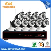 Smart Home Products 9CH 720P Home Security 4ch Wifi Nvr Kits CCTV Kits