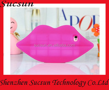 New 3D Big Lips Silicone Rubber Gel Back Case Cover Skin For iPhone