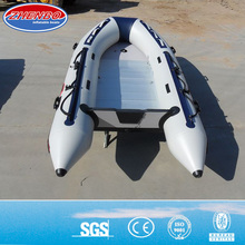 6 person inflatable fishing boat with aluminum floor