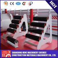 The famous Chinese parts of belt conveyor roller production whith conveyor roller assembly line