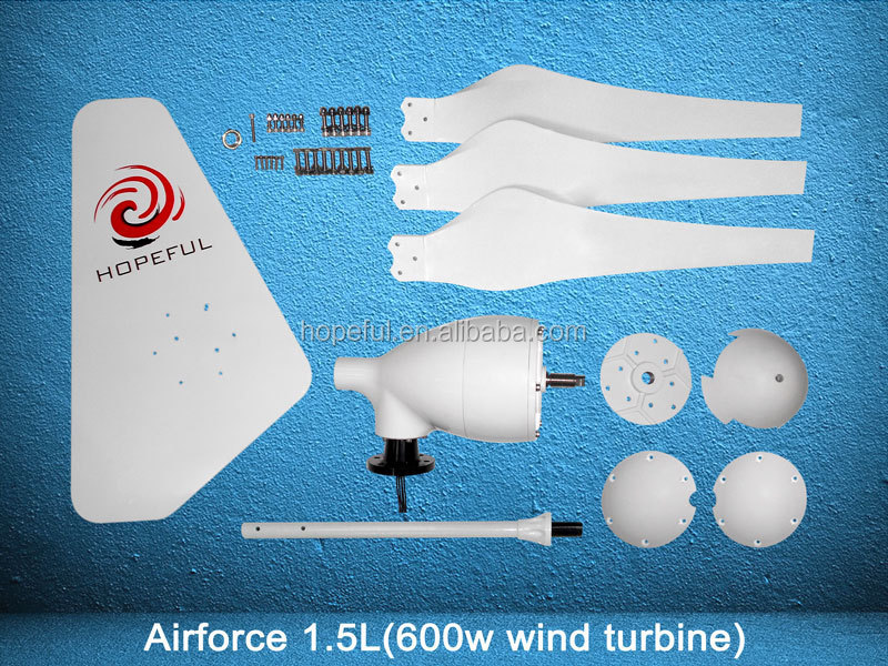chinese 600W small wind turbine for home or wind soalr hybrid system