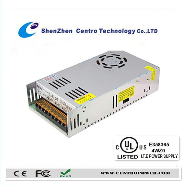 360w 12v 30A CCTV Open Frame Power Supply with UL approved
