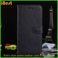 iBest Protective PU leather retro series leather case for iphone6/6 plus,smart case cover for iphone 6 plus