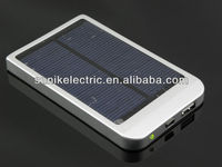 2013 new product universal rechargeable high quality mobile phone solar power bank