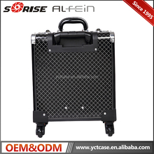 Professional rolling trolley Makeup case cheap beauty makeup cosmetic box