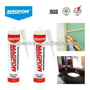 Silicon sealant for bonding glass,rubber,limber
