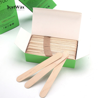 JustWax cosmetic wood spatula wood wax stick for hair removal