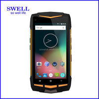 V1 Industrial devices 4G Dual Sim 1.7GHz FHD Gorilla glass android5.1 NFC SOS button PTT walkie talkie octa core rugged mobile p
