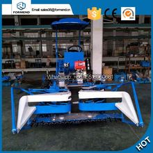 small bean harvester tractor mounted combine harvester rice reaper binder price for sale