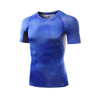 Top Selling 2017 ,Popular Design Blank Super Heroes Style Compression , Wholesale Youth Compression Shirts