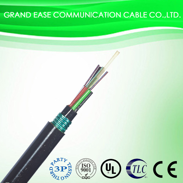 Single mode All-Dielectric optical fiber cable GYFTY53 for communication