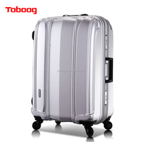 Very Light abs Trolley Bag with TSA code lock carry on type