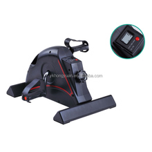 LCD Display Exercise Bike Under Desk Cycle for Fitness Equipment Home