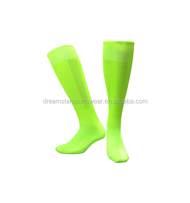 High Quality Men Sweat-Absorbing Knee High Soccer Socks