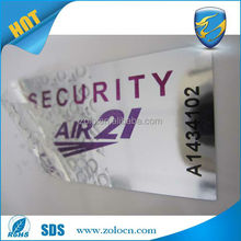 Alibaba china leading anti-fake custom logo am security bottle labels