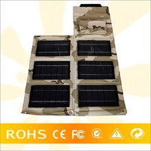 24W Solar Panel Charger, PET Laminating Foldable Solar Power Pack For Laptop