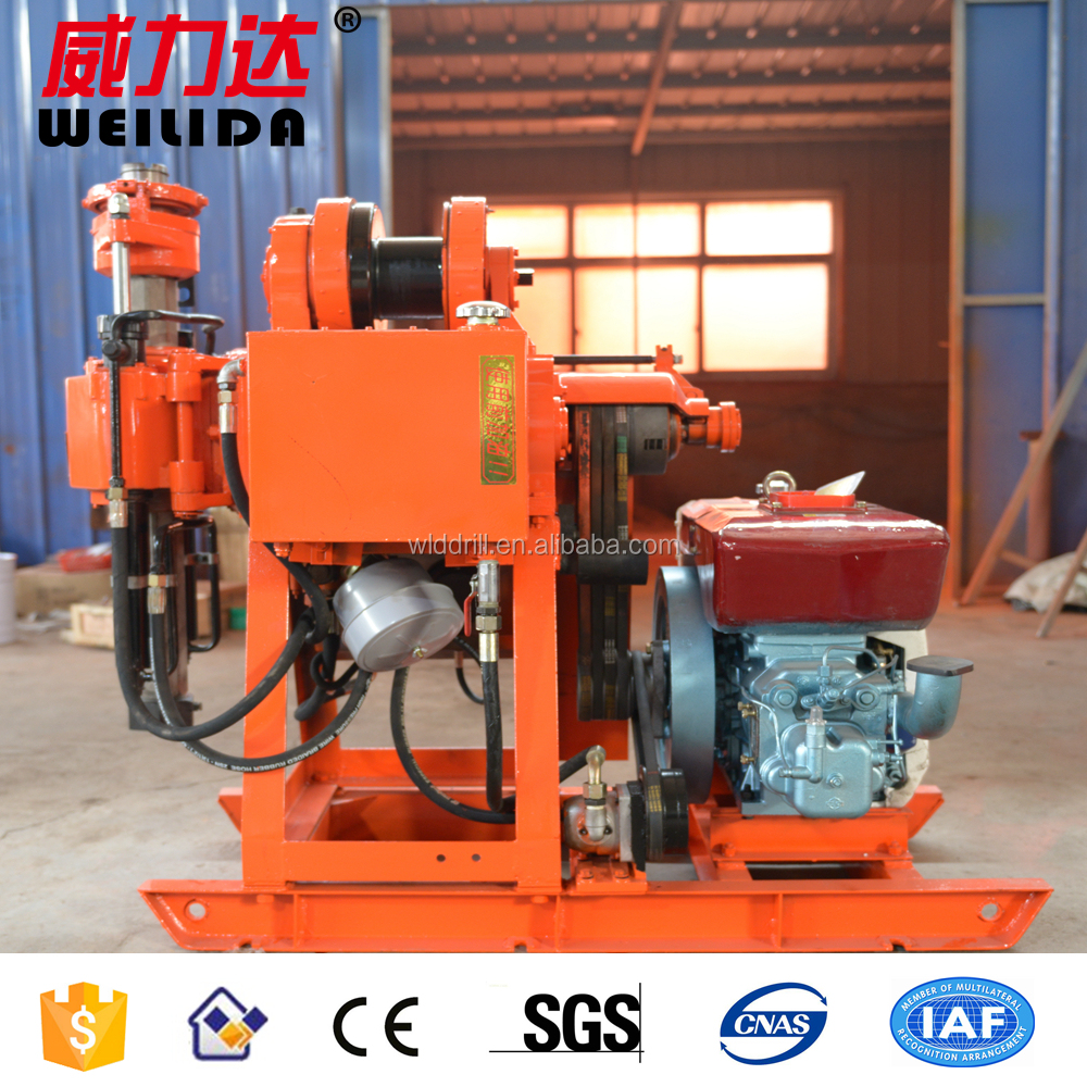100m geological prospecting drilling rigs price/drill rig