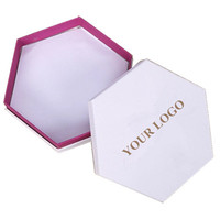 White Colour Craft Octagon Gift Box