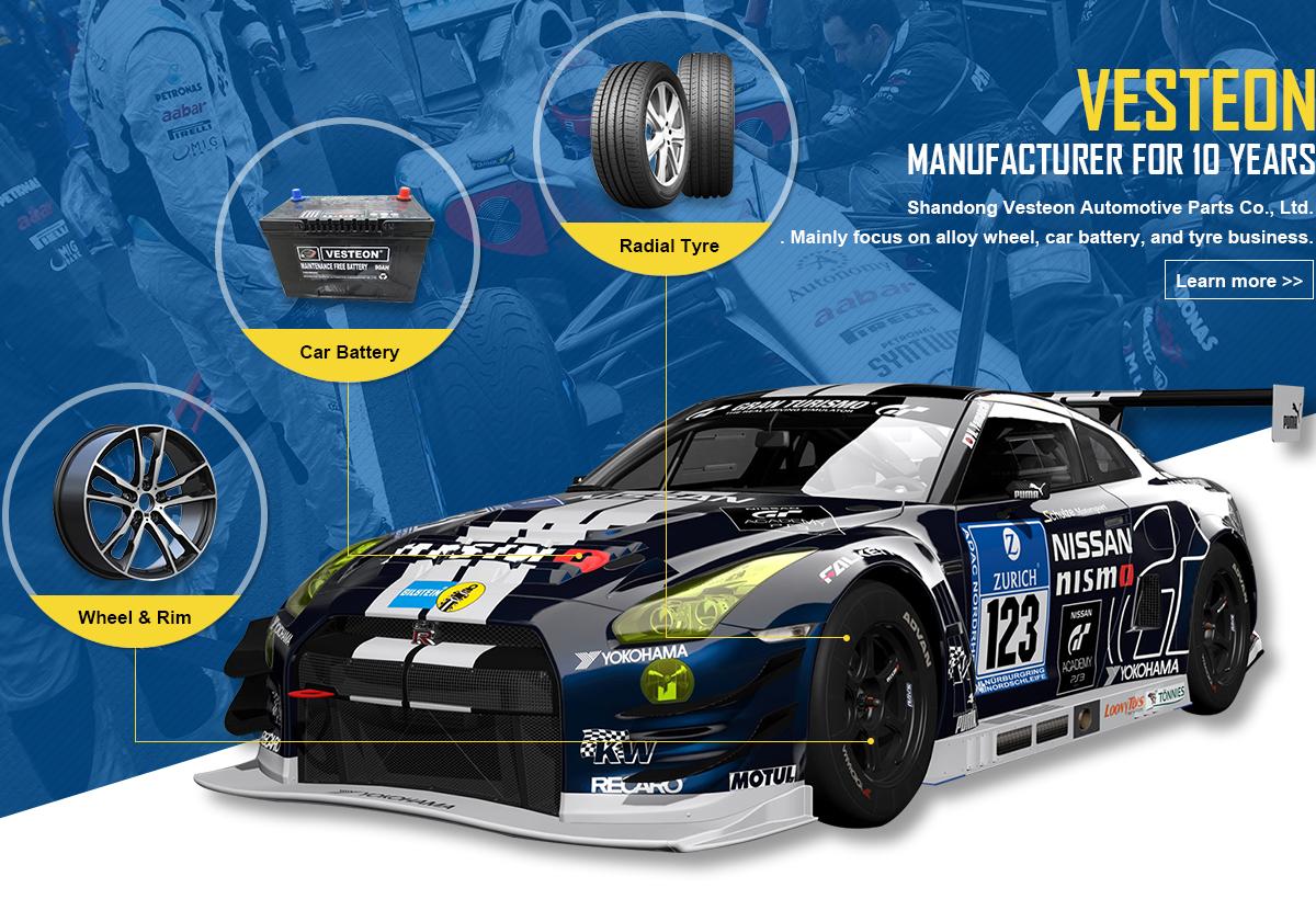 Shandong Vesteon Automotive Parts Co., Ltd. - Alloy Wheel, Car Tyre