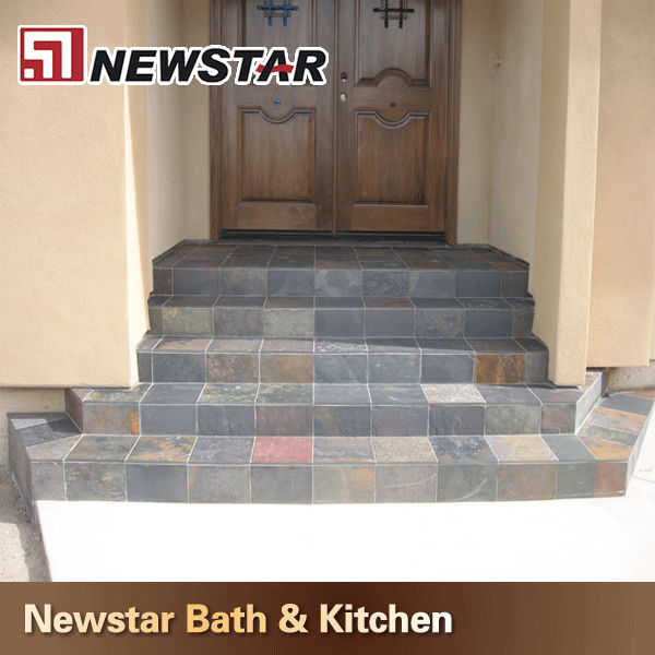 Newstar cheap outdoor slate steps & risers stone in high quality