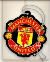 hot sale football team paper air freshener