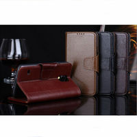 High quality book stand yak genuine leather case for Samsung galaxy S5 i9600