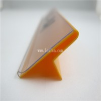 Plastic high quality card holder plastic for supermarket or store (LC-41)