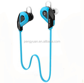 New brand made in china promtional gift waterproof sport stereo wireless bluetooth earphone with handsfree