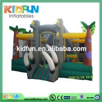 Quality hot-sale giant boat inflatable obstacle course