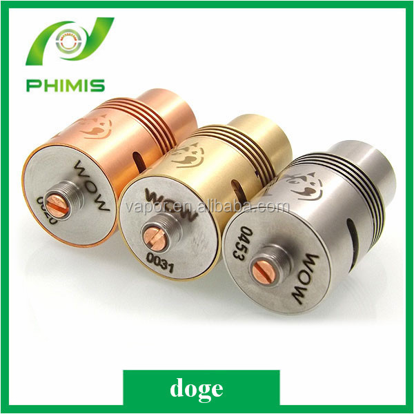 2014 Wholesale High Quality doge rda vape ecigarette with Machanical clone Mod from phimis