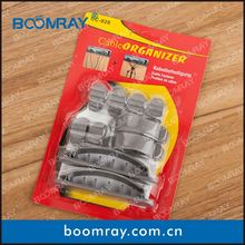 2014 Hottest Salling High Quality PP Cable Clip Rubber Wire Holder customized thermoformed deep draw plastic products
