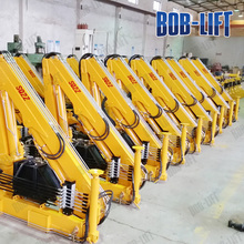 2 ton truck-mounted telescopic boom pickup truck mounted crane for sale in qatar