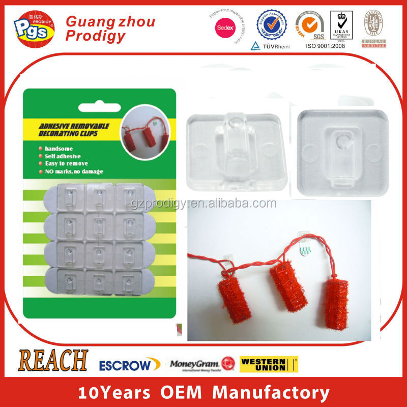 Wiring accessories plastic pvc cable clip