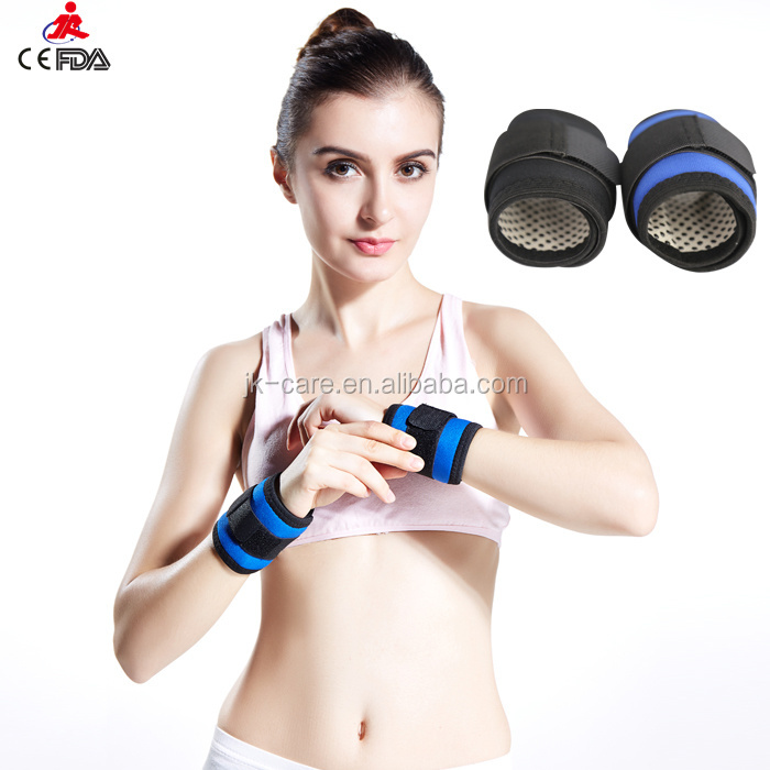 High quality power weight lifting wrist wraps / CE FDA proved adjustable nylon wrist wraps supporter