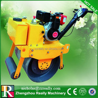 CE approved diesel engine applicable for various terrains vibratory tamping roller