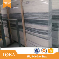 2017 newest white wood marble tiles and marble slabs