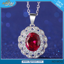 New design gemstone silver jewelry turkish jewelry set 925 sterling silver scalar energy pendant price