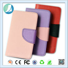 High quality phone flip wallet leather case for huawei ascend y300