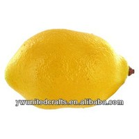 Lemon artificial fruit yellow lemon mini decorative fruit