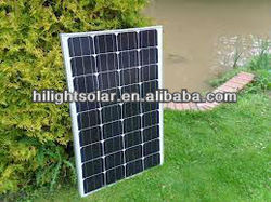 High efficiency solar panel 140w with mono Yingli cells
